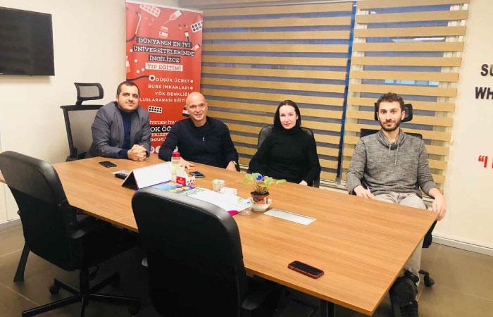 Dario Bey ve Natalia Hanım'ın Ofisimizi Ziyareti