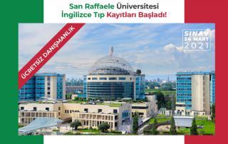 SanRaffaele Üniversitesi İngilizce Tıp Fakültesi Başvuruları Başladı