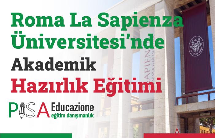 Roma La Sapienza Üniversitesi'nde Akademik Hazırlık Eğitimi